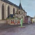 Schilderij Grote kerk Zwolle